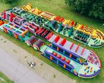 The Biggest Inflatable Obstacle Course in the World - Team Building