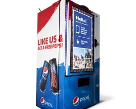 Pepsi Introduces First 'Like' Vending Machine at an Event