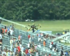 Drone Crashes at Event