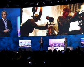 Embarrassing Moment for Michael Bay during Keynote Speech