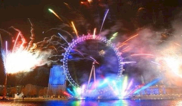 London Eye Transformed into Mega Club