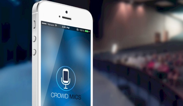 App Transforms Smartphone into Microphone for Participants