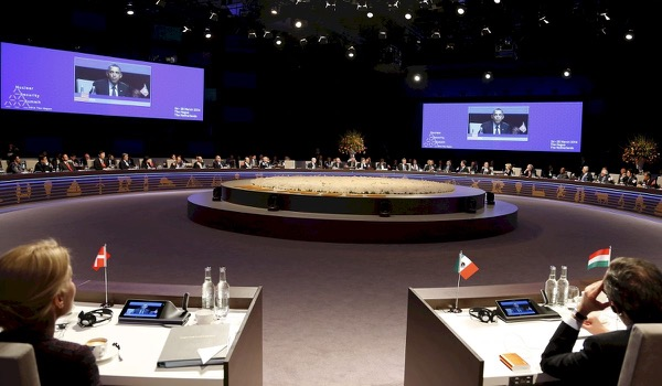 For Sale: Nuclear Summit's Conference Table
