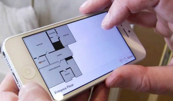 Start-Up: Locometric Scans and Draws Floor Plan
