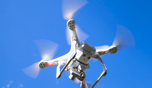 Drone Knocks Out Woman at Event